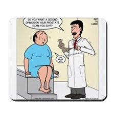 Prostate Second Opinion Mousepad