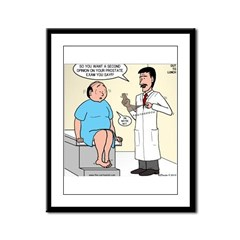 Prostate Second Opinion Framed Panel Print