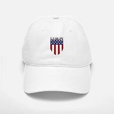 Patriotic American Flag Shield Baseball Baseball Baseball Cap
