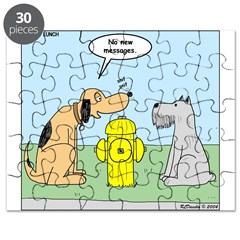 Dog Messaging Puzzle