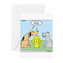 Dog Messaging Greeting Cards (Pk of 20)
