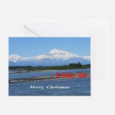 Mt. McKinley, Alaska Greeting Cards