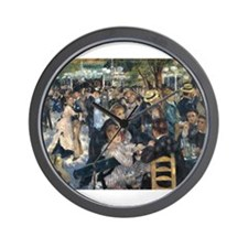 Bal du moulin de la Galette Wall Clock