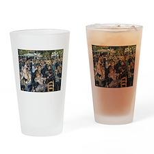 Bal du moulin de la Galette Drinking Glass
