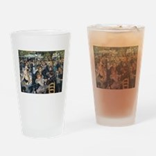 Bal du moulin de la Galette Drinking Glass