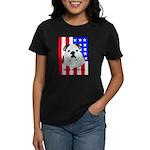 English Bulldog Made in the U Women's Dark T-Shirt