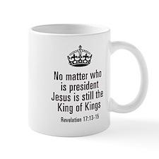Jesus King of Kings Mugs