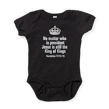 Jesus King of Kings Baby Bodysuit