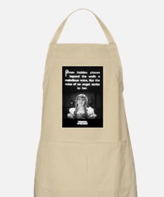 """Voice of an Angel"" BBQ Apron"