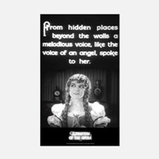 """""""Voice of an Angel"""" Rectangle Decal"""