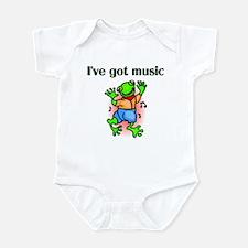 Singer and Dancer Infant Bodysuit