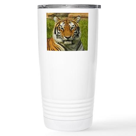 India tiger Peace and calm Travel Mug