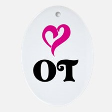 OT LOVE Ornament (Oval)