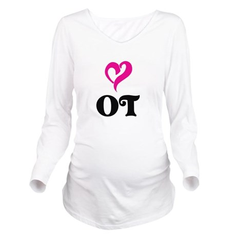 OT LOVE Long Sleeve Maternity T-Shirt