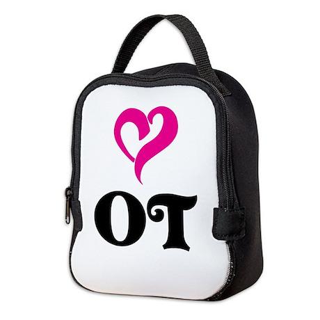 OT LOVE Neoprene Lunch Bag