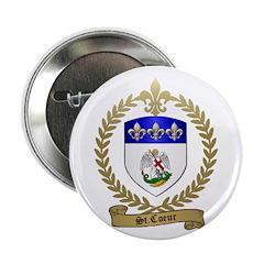 ST. COEUR Family Crest Button