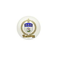 ST. COEUR Family Crest Mini Button