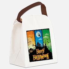 Happy Halloween Canvas Lunch Bag