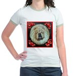 Chinese Chow Chow Jr. Ringer T-Shirt