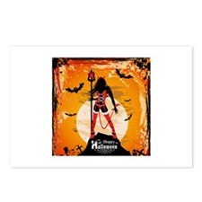 Halloween Vixen Postcards (Package of 8)