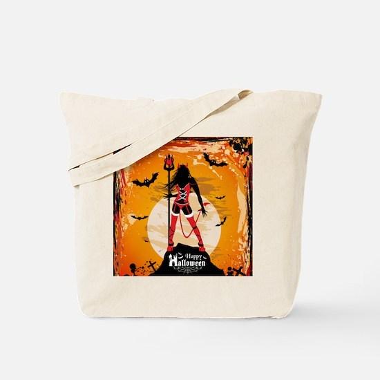 Halloween Vixen Tote Bag