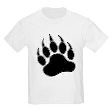 GAY BEAR PRIDE Gay Bear Paw T-Shirt