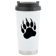 GAY BEAR PRIDE Gay Bear Paw Travel Mug