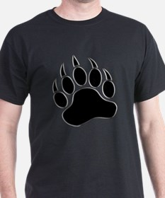 GAY BEAR PRIDE Gay Bear Paw T-Shirt