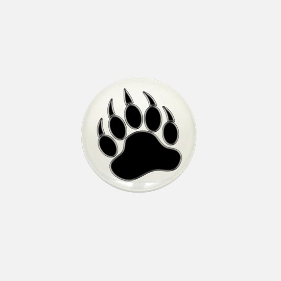 GAY BEAR PRIDE Gay Bear Paw Mini Button