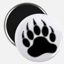 "GAY BEAR PRIDE Gay Bear Paw 2.25"" Magnet (100 pack"