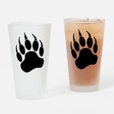 GAY BEAR PRIDE Gay Bear Paw Drinking Glass