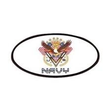 Navy Military Veteran Patches