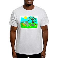 Big 5 Do the Conga! Ash Grey T-Shirt