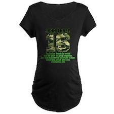 JOHN 316 Bible Camo Maternity T-Shirt