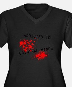 Addicted to Criminal Minds Plus Size T-Shirt