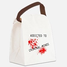 Addicted to Criminal Minds Canvas Lunch Bag