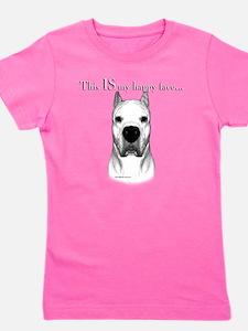 Dogo Happy Face dark Girl's Tee