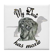 Doxie Pride Tile Coaster