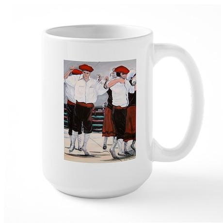 Basque Jota Dance - Large Mug