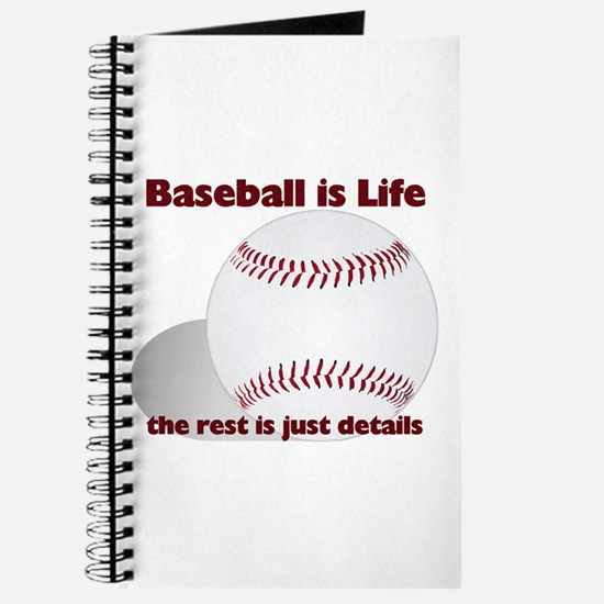Baseball is Life Journal