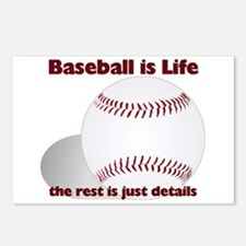 Baseball is Life Postcards (Package of 8)