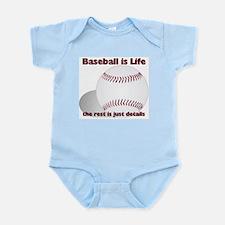 Baseball is Life Infant Bodysuit