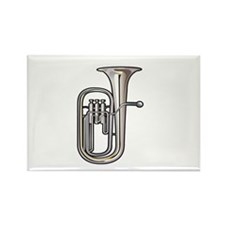 euphonium brass instrument music realistic Magnets