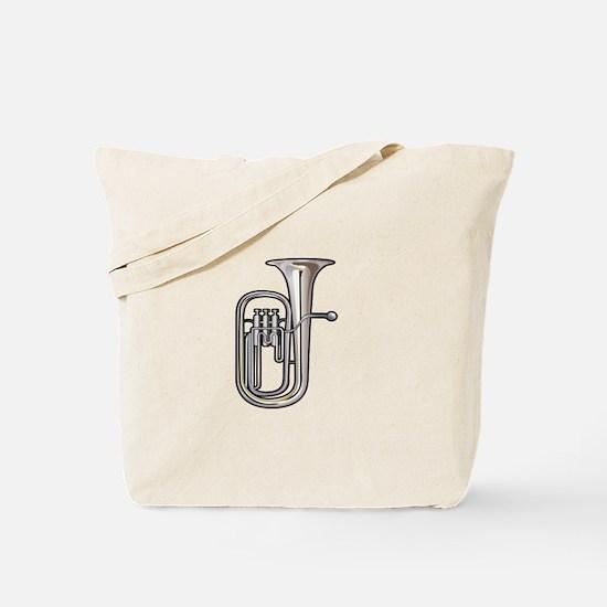 euphonium brass instrument music realistic Tote Ba