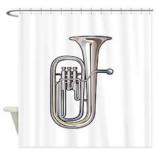 euphonium brass instrument music realistic Shower