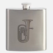 euphonium brass instrument music realistic Flask
