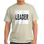 Leader (Front) Ash Grey T-Shirt