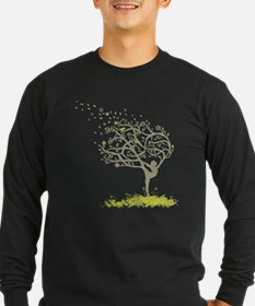 Stretching My Limbs Long Sleeve T-Shirt