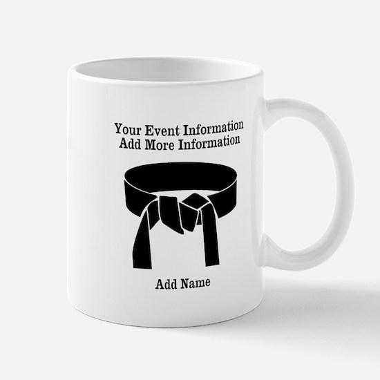 Karate Tournament Small Mug