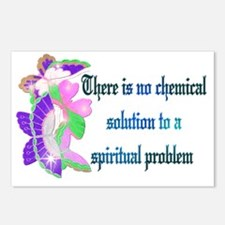 No Chemical Solution Postcards (Package of 8)